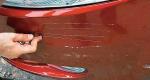 Что делать, если поцарапали авто во дворе